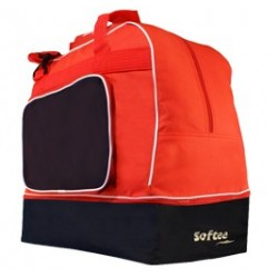 BOLSA ZAPATILLERO GRANDE TEAM COLOR ROJO/MARINO VIVO BLANCO SOFTEE