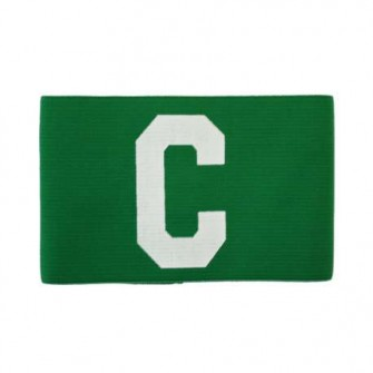 DISTINTIVO CAPITAN REGULABLE SOFTEE COLOR VERDE TALLA SENIOR