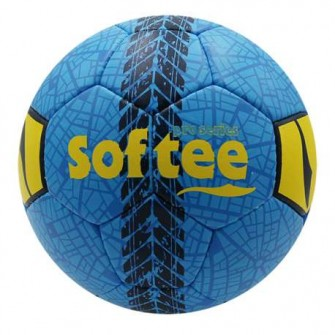 BALON FÚTBOL SOFTEE ROAD COLOR ROYAL TALLA FUTBOL 7