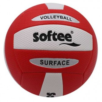 BALÓN VOLEY SOFTEE SURFACE ROJO