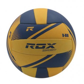 BALÓN VOLEY ROX R-BIO COLOR NARANJA/AZUL TALLA VOLLEY