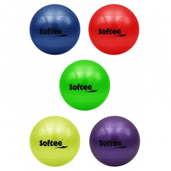 PELOTA POLIVALENTE LISA FLEXI - 140 MM, VERDE