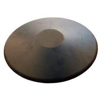 DISCO LANZAMIENTO CAUCHO - NEGRO, 1.75kg
