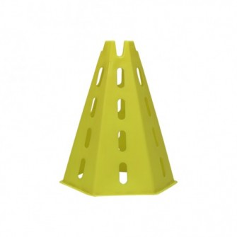 CONO HEXAGONAL - UNICA, AMARILLO FLUOR