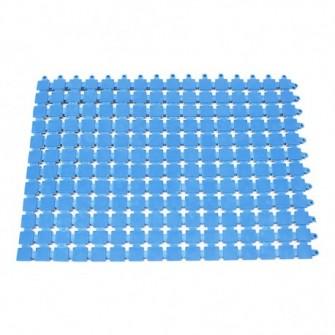 LOSETA PVC 30X40 SOFTEE AZUL 1.0