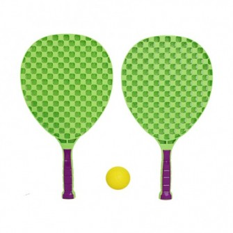 SET SHUTTLEBALL SOFTEE ADVANCED CON PELOTA  - UNICA, VERDE