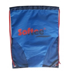 GYMSACK SOFTEE CON RED COLOR ROYAL/MARINO/ROJO TALLA UNICA