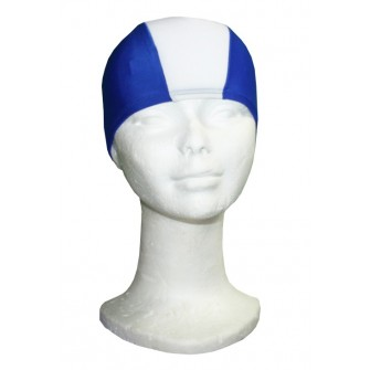 GORRO NATACIÓN LICRA SOFTEE ROYAL/ BLANCO