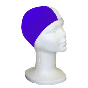 GORRO NATACIÓN POLIÉSTER SOFTEE JUNIOR ROYAL/ BLANCO