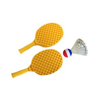 SET SHUTTLEBALL - uso exclusivo con supervolante o pelota foam-