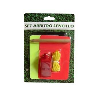 SET ARBITRO SENCILLO
