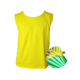 PETO REVERSIBLE SENIOR VERDE-AMARILLO