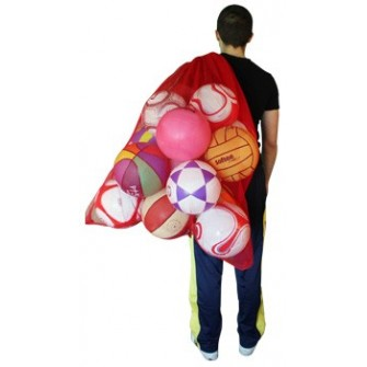 red bolsa jumbo capacidad 30 balones