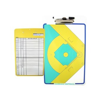 CARPETA TÁCTICA PVC/ABS REVERSIBLE BÉISBOL / SOFTBALL