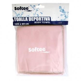 TOALLA MICROFIBRA SOFTEE ROSA
