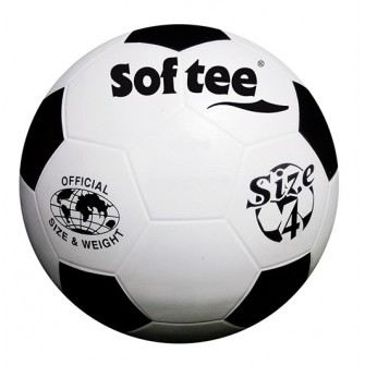 BALÓN FUTBOL 7 SOFTEE  CAUCHO LISO 'TRAINING I' NEW