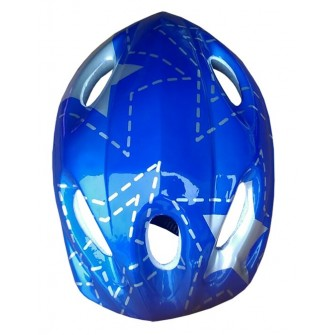 CASCO INFANTIL SOFTEE 54 COLOR AZUL