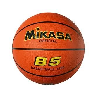 BALÓN MINIBASKET MIKASA 'B-5 GOMA