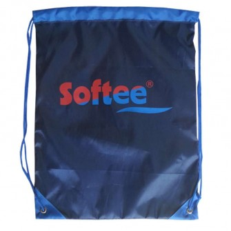GYMSACK SOFTEE BASIC COLOR MARINO/ROYAL/ROJO TALLA UNICA