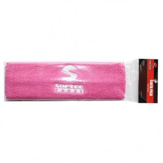 CINTA PELO SOFTEE PADEL COLOR ROSA TALLA UNICA