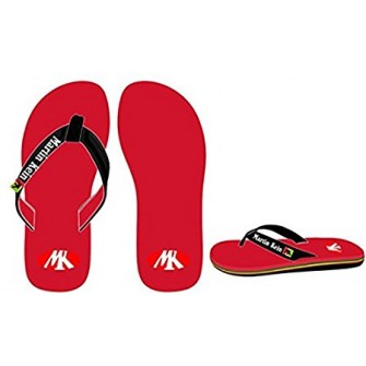 CHANCLAS MARTIN KEIN ARUBA COLOR ROJO