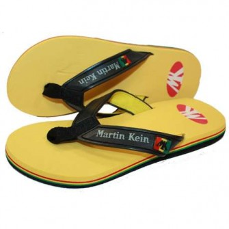 CHANCLAS MARTIN KEIN ARUBA COLOR AMARILLO