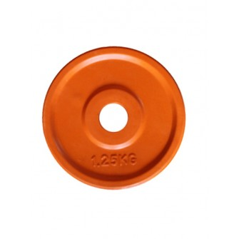 DISCO CAUCHO 1,25 KG COLOR NARANJA