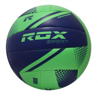 BALÓN VOLEY ROX R-BIO COLOR VERDE/AZUL TALLA VOLLEY