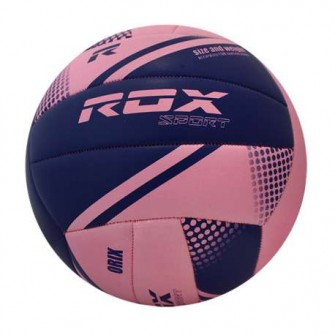 BALÓN VOLEY ROX R-BIO COLOR ROSA/AZUL TALLA VOLLEY