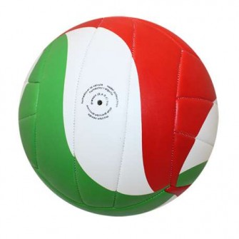 BALÓN VOLEY ROX R-SEVEN COLOR ROJO/VERDE/BLANCO TALLA VOLLEY