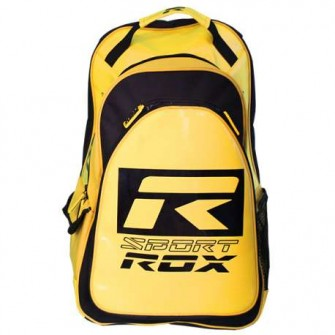 MOCHILA ROX MULTIUSOS R- ALPHA COLOR AMARILLO TALLA UNICA