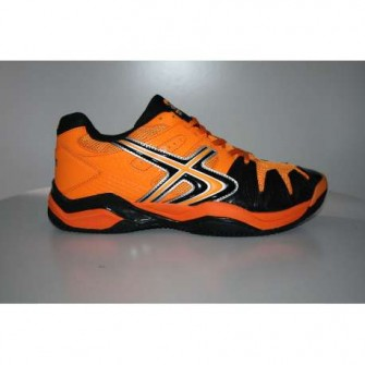 ZAPATILLA SOFTEE PADEL WINNER 1.0 COLOR NARANJA/NEGRO TALLA