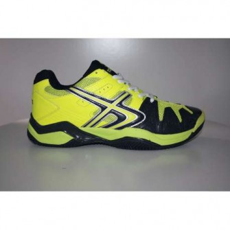 ZAPATILLAS SOFTEE PADEL WINNER 1.0 COLOR AMARILLO/NEGRO TALLA