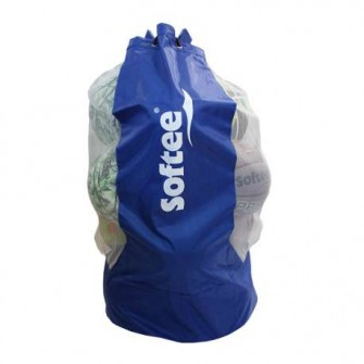 SACO PORTABALONES SOFTEE COLOR ROYAL TALLA UNICA